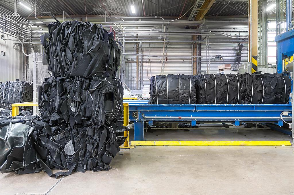 Recycling, Aufbereitung, Zerkleinern