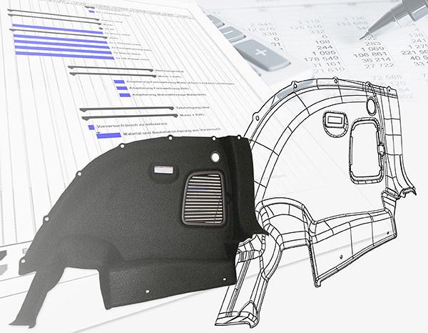 Konzeptentwürfe und Konstruktion, CAD