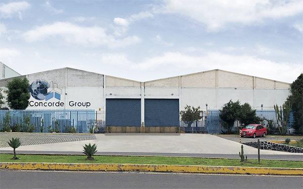 Location Puebla Concorde